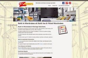 Wardrobe Contractor Wordpress Design