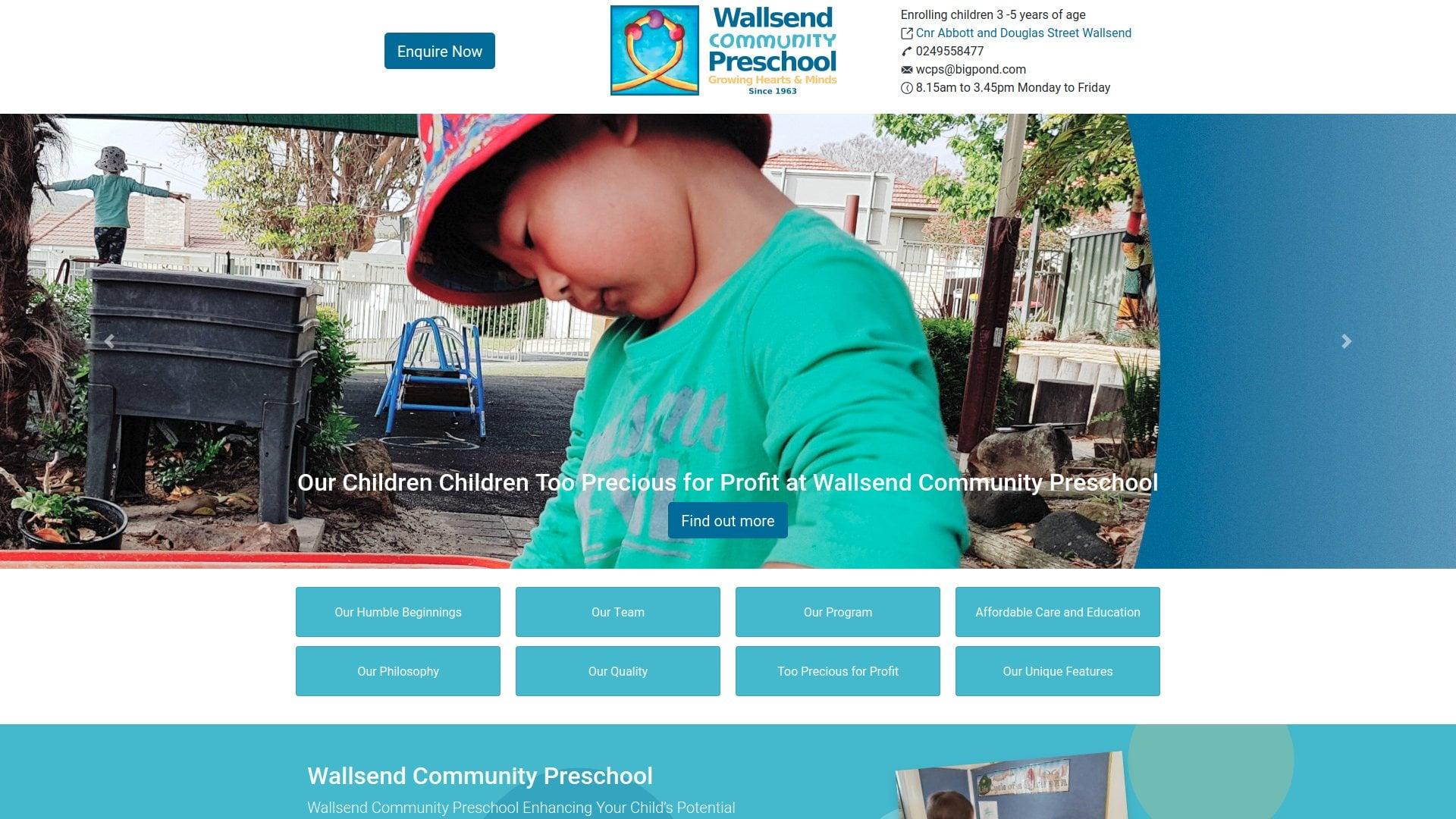 Wallsend preschool