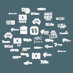 Australian TV network logos