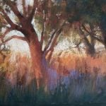 Nature Pastel Painting