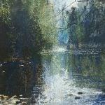 Gwendolin Lewis painting
